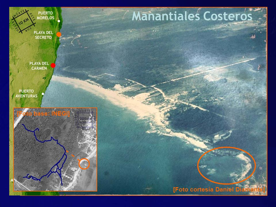 Manantiales Costeros [Foto base: INEGI]